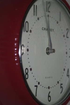 Original Photo - and yes I see that I need to clean my clock! :-)
