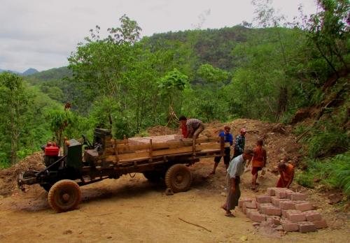 Mark Loading Truck