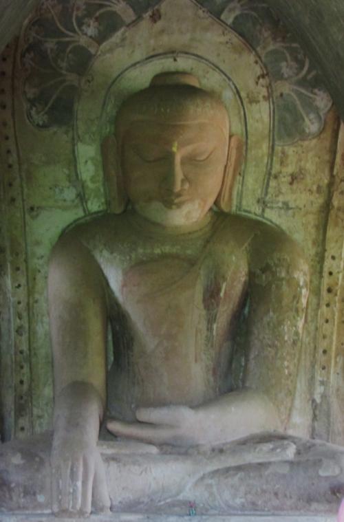 Buddha in Stuppa 2