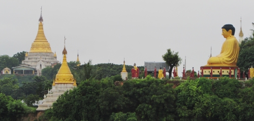 Buddha on Ayeyarwaddy