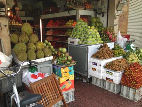 HCMCity_Fruit Vendor