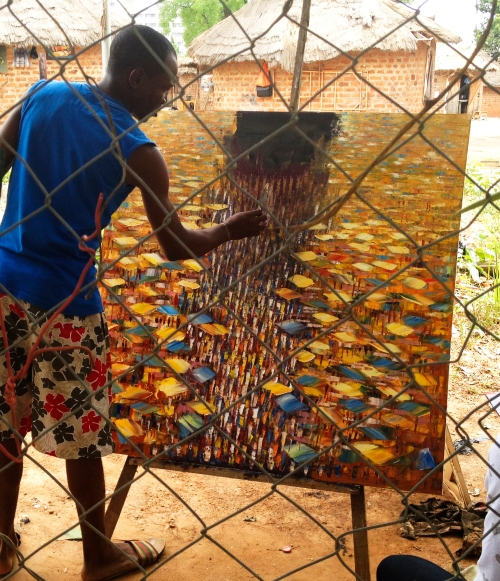 Painter in Abuja